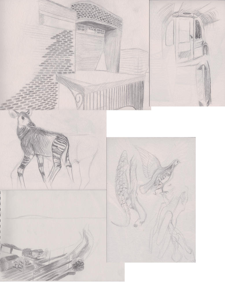 London sketches by IchorData