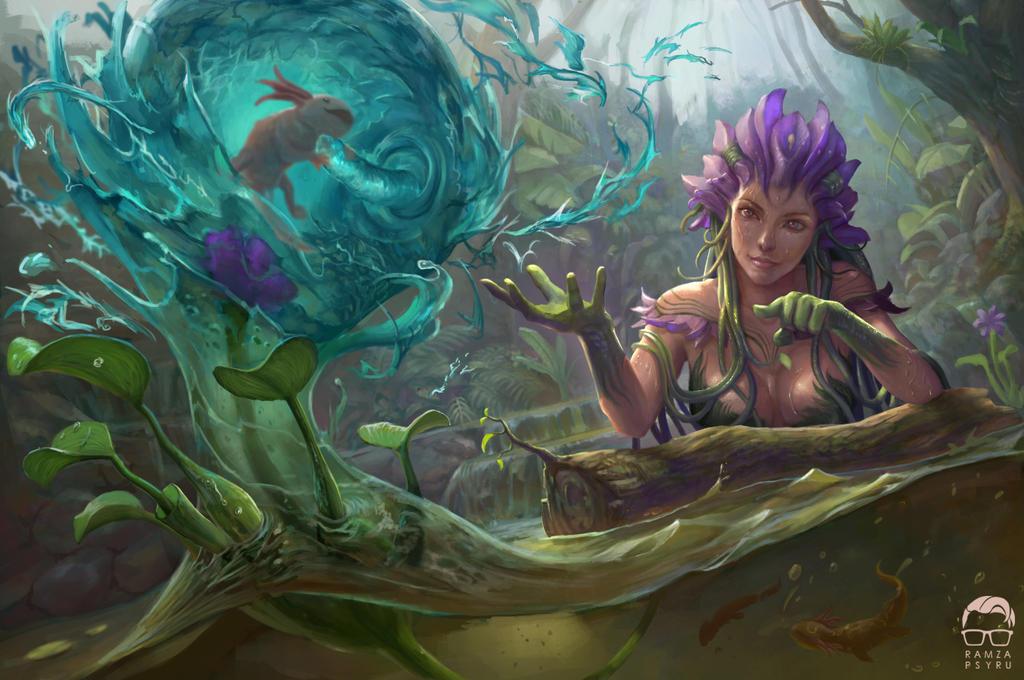 Hyacinth Grace by ramzapsyru