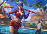 Fortnite's Paradise Palm Pool Party
