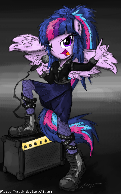 heavy metal pony