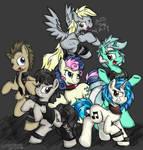 Background Ponies Mosh Pit