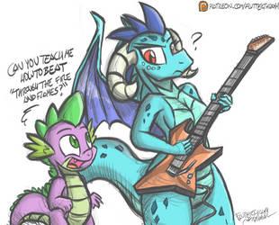 Dragonforce by FlutterThrash