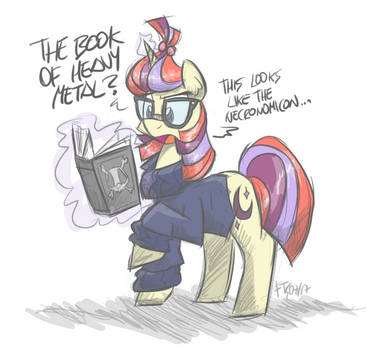 The Book of Heavy Metal by FlutterThrash