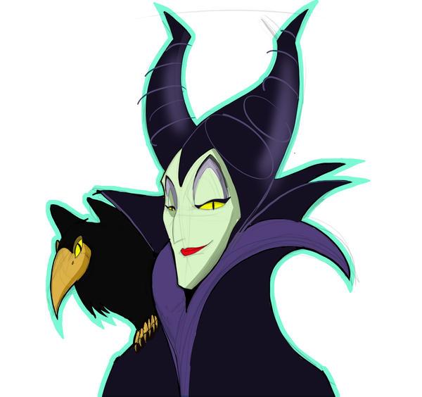 Maleficent by baumanji on DeviantArt