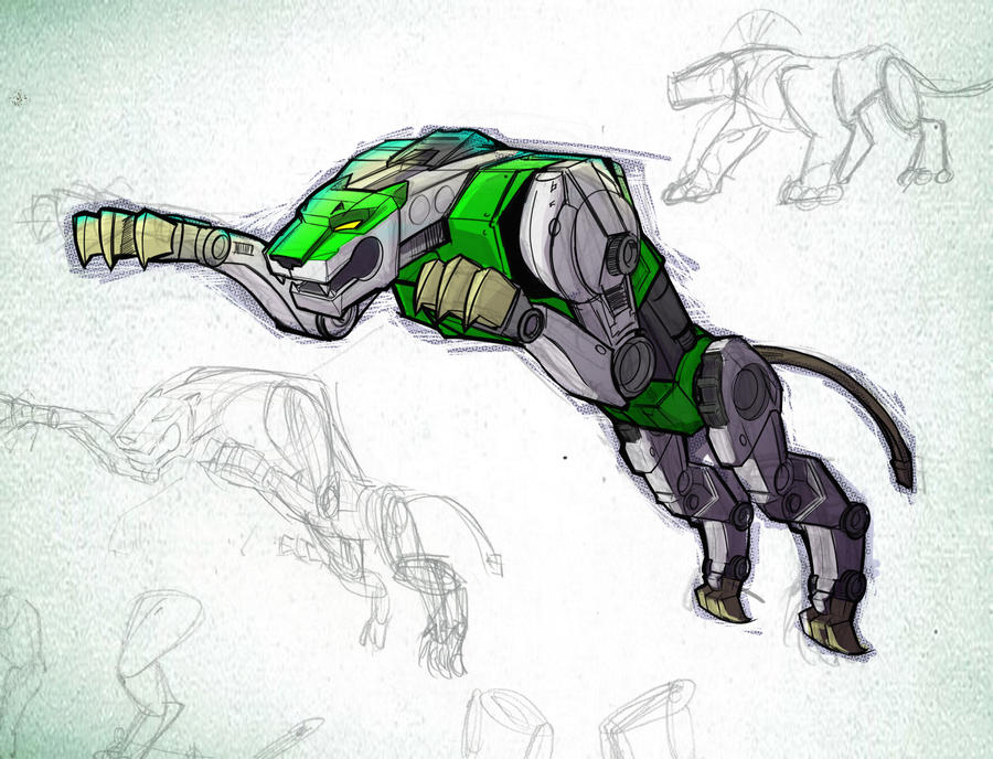 Green Lion Voltron Voltron favourites by