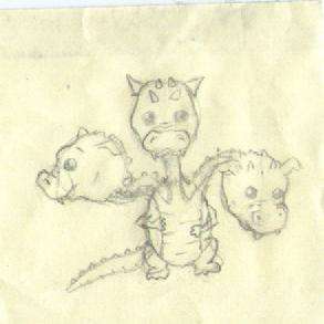 Baby Dragon by Gaboob23