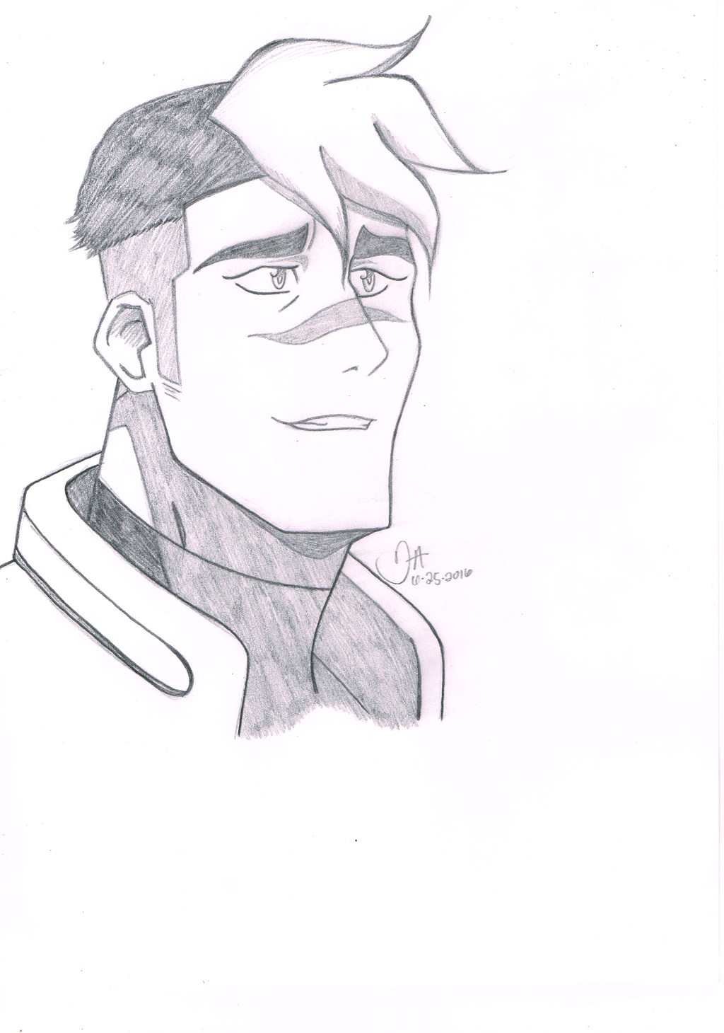 Voltron legendary defender shiro by tradigital4rt on for Easy drawing websites