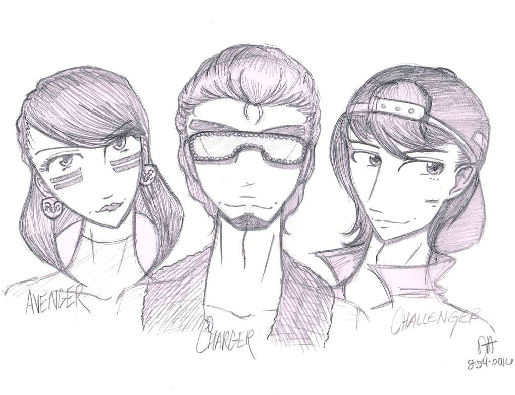 The Dodge Family by Tradigital4RT