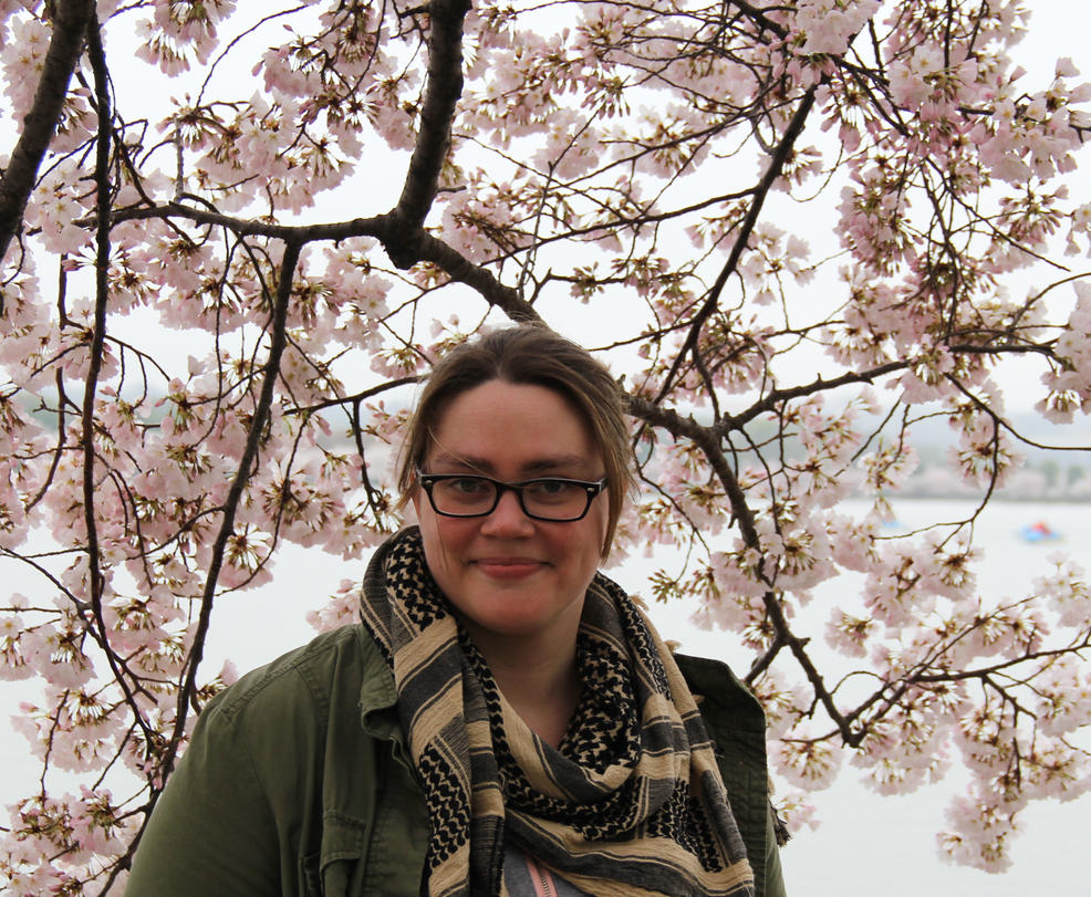 Me with Cherry Blossoms by nerdygirl82