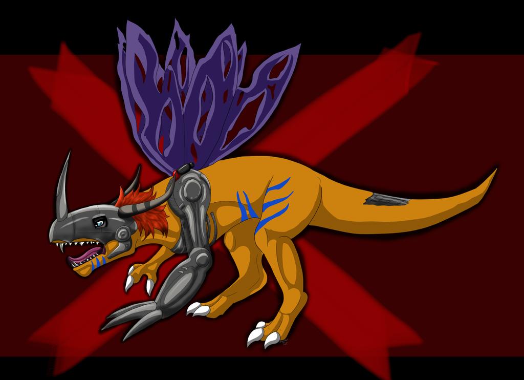 Metalgreymon by Cheetahbird