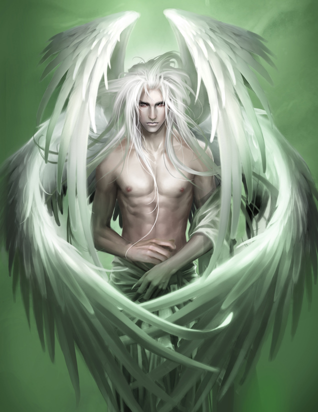 The angel by Heise dans Fantastique The_angel_by_heise