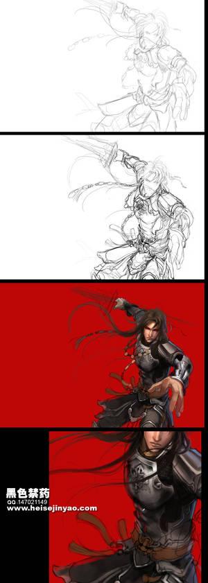 Ancient warrior 001
