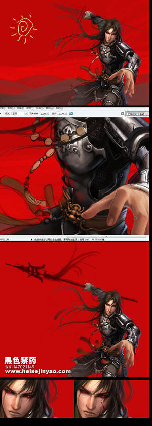 Ancient warrior 002