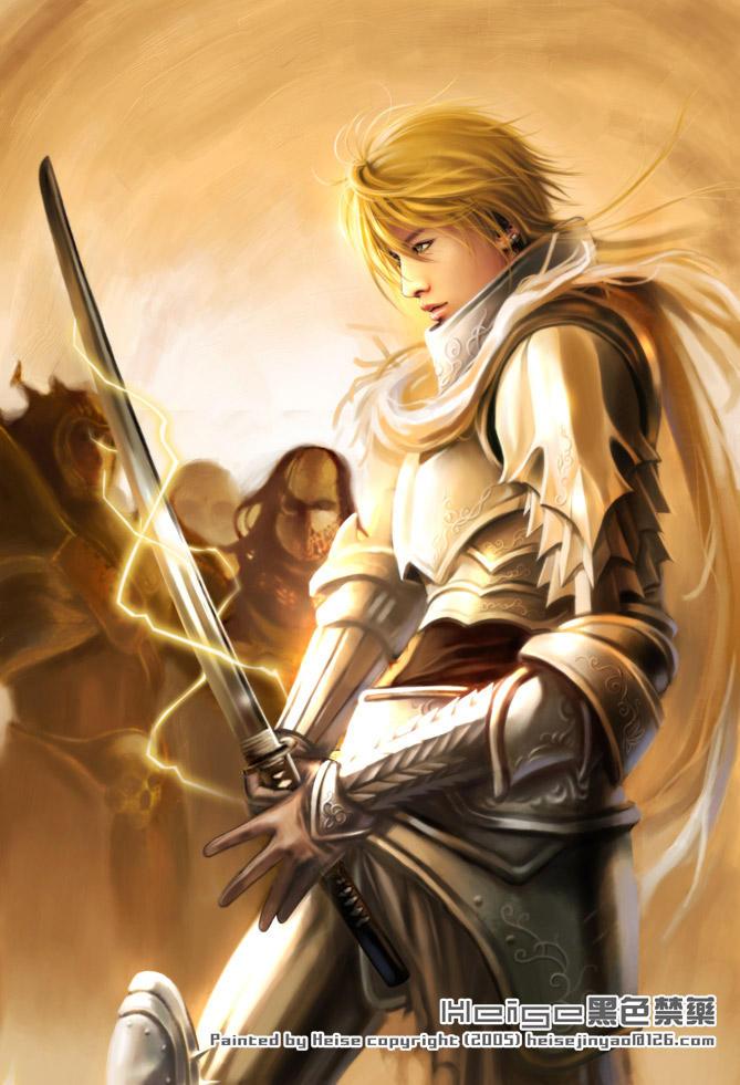Warrior by heise dans Light Warrior_by_heise