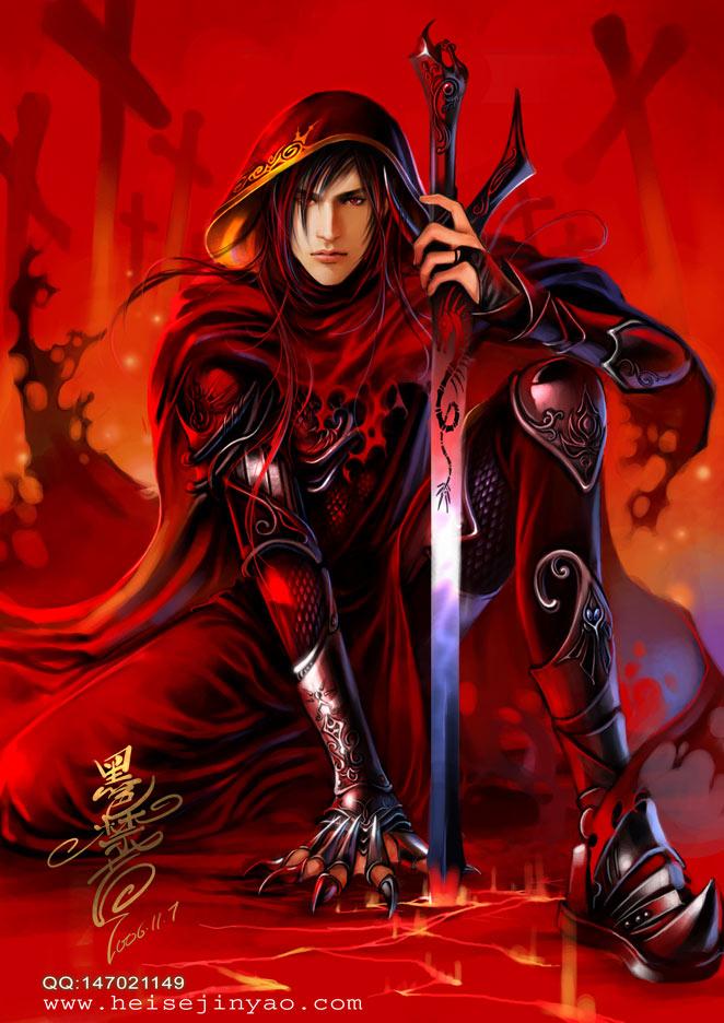 man fantasy character