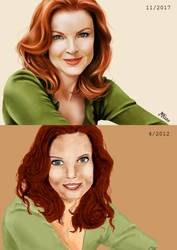 Draw this again - Bree Van de Kamp by monniart
