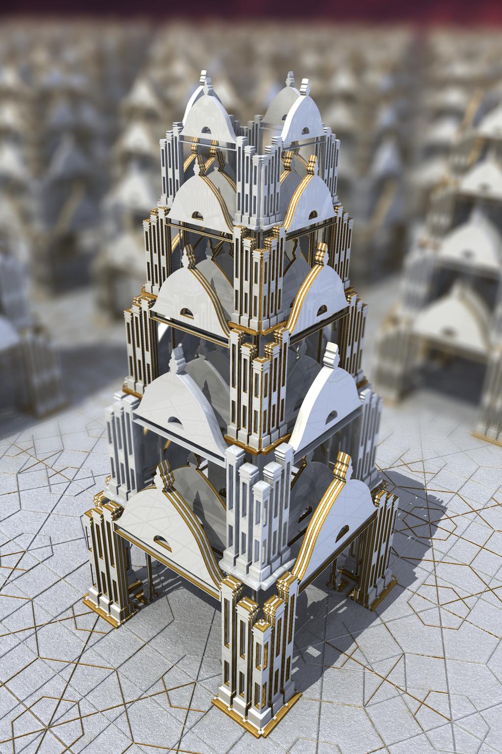 Cinco pisos by elminino