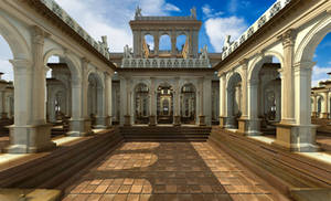 The palace of infinite wisdom and utter joy by elminino