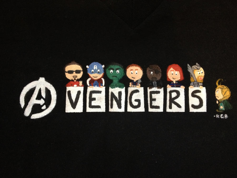 Avengers Shirt by Karina2k5e