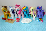 MLP My Little Pony Felt Plushies Sewing Patterns