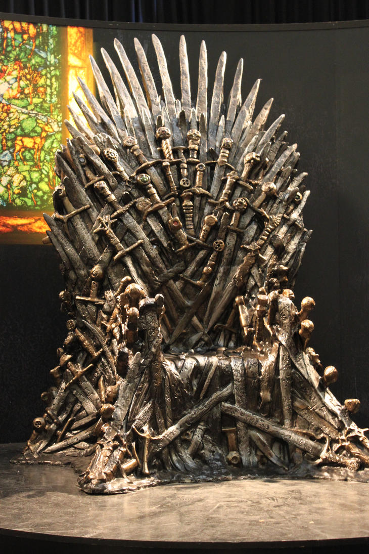 Game of thrones iron throne replica by devilblood on for Buy iron throne chair