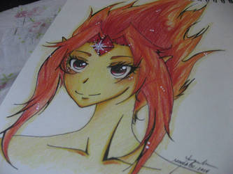 Flame Princess 2 by ButterflyInMaze