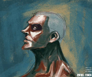 Study painting 2 by Itinen