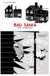 Bad Santa Comic