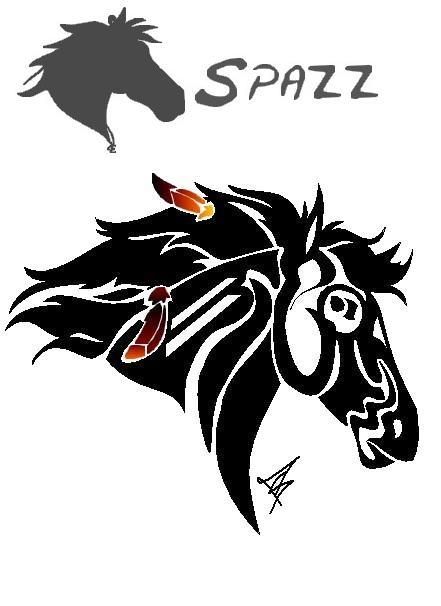 Cherokee Horse Tattoo by ~CometSpazzes14 on deviantART