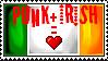 Irish Punk Stamp by CometSpazzes14