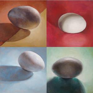 Four Eggs by Caitlin-Carnes