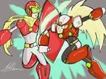 Protoman X vs Zero
