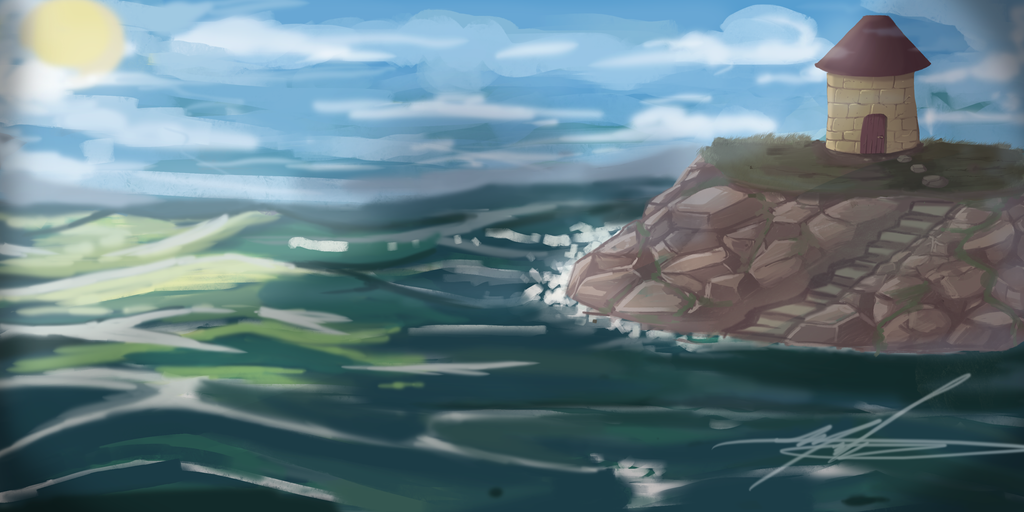 Rock Island by SparkyPantsMcGee