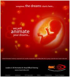 MAAC Paper Ad by HeyShiv