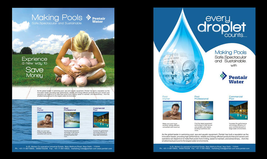 Ad water company by heyshiv on deviantart for Advertise for companies