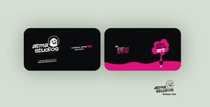Atma Studios Business Card by HeyShiv