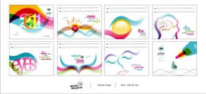 Orbit Bio Care Calendar Design by HeyShiv