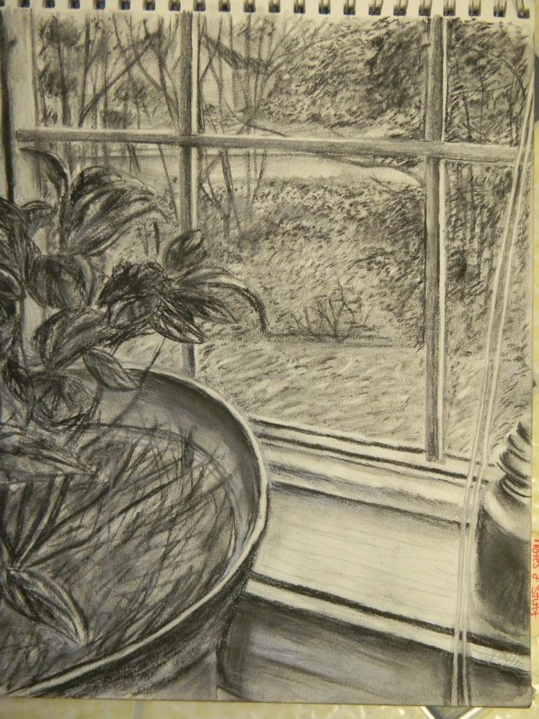 Window Sketch By Mersan Sama On Deviantart
