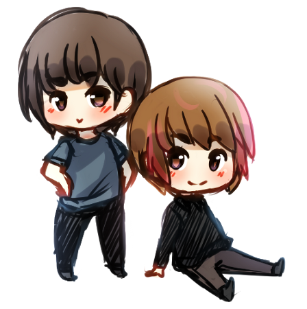 Minhwan and Hongki by mersan-sama