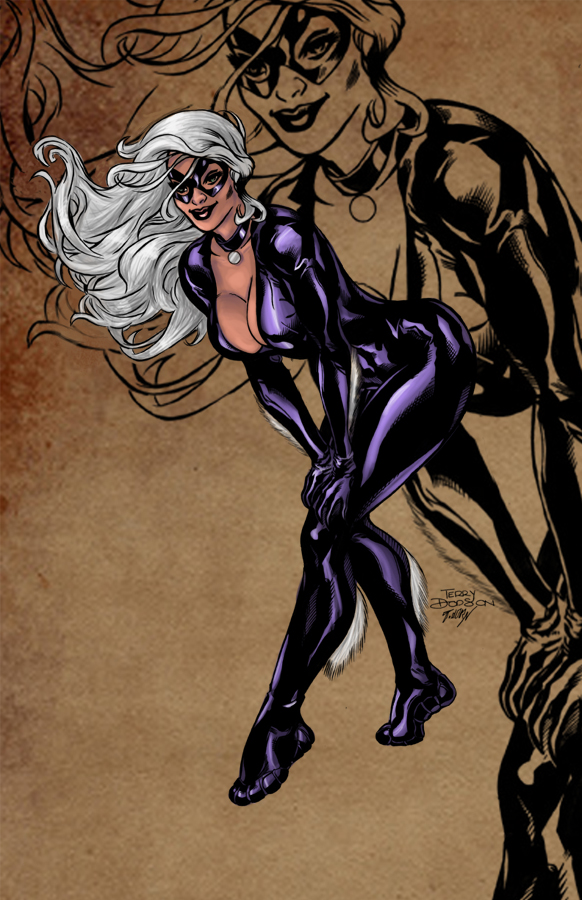 The gallery for --> Black Cat And Mary Jane Love
