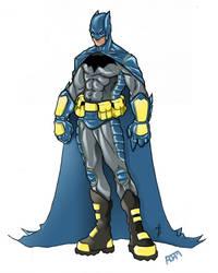Batman by dnmn89