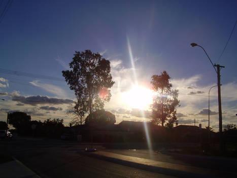The Sun's fingers