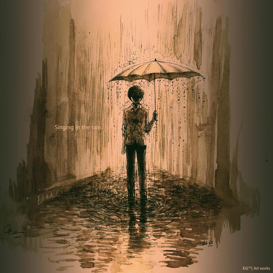 Singing In The Rain By Fodyne On DeviantArt