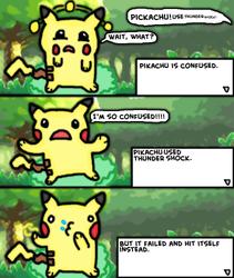 Nintendo logic:pokemon (3) confusion by 4bitscomic