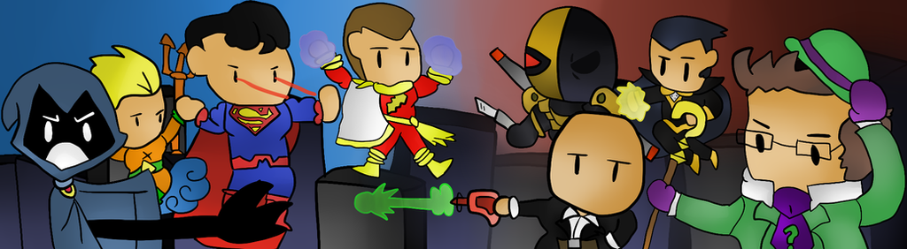 Scribblenauts Unmasked A DC Battle by thegamingdrawer