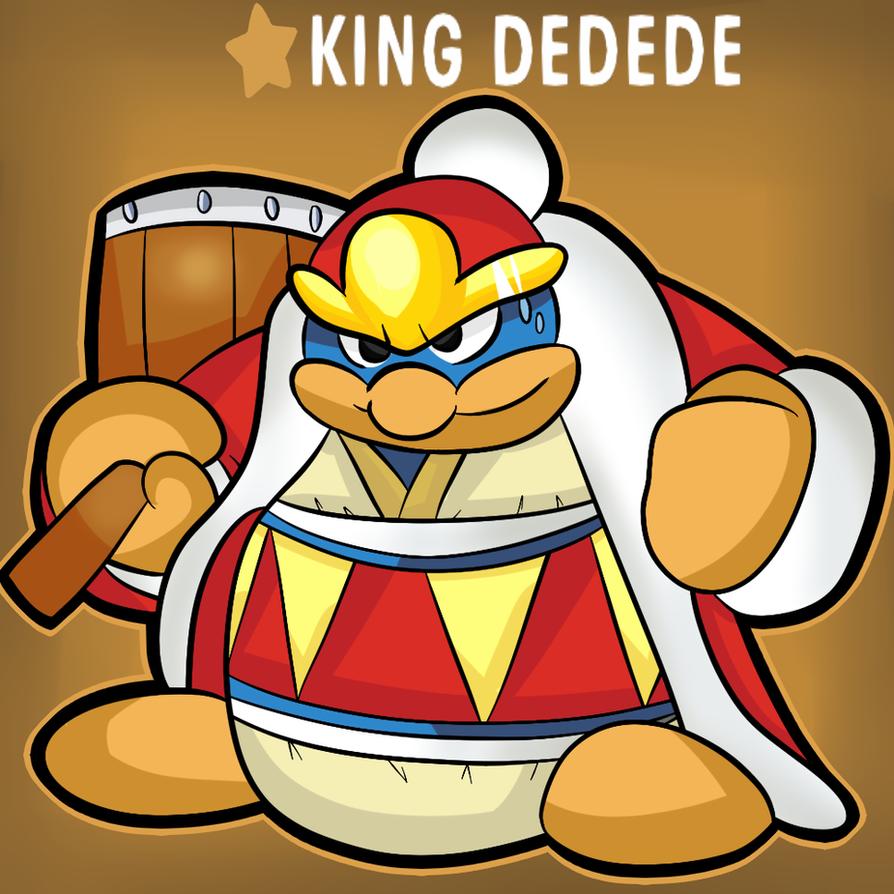 Super smash bros for the wii u/3ds-King Dedede by thegamingdrawer