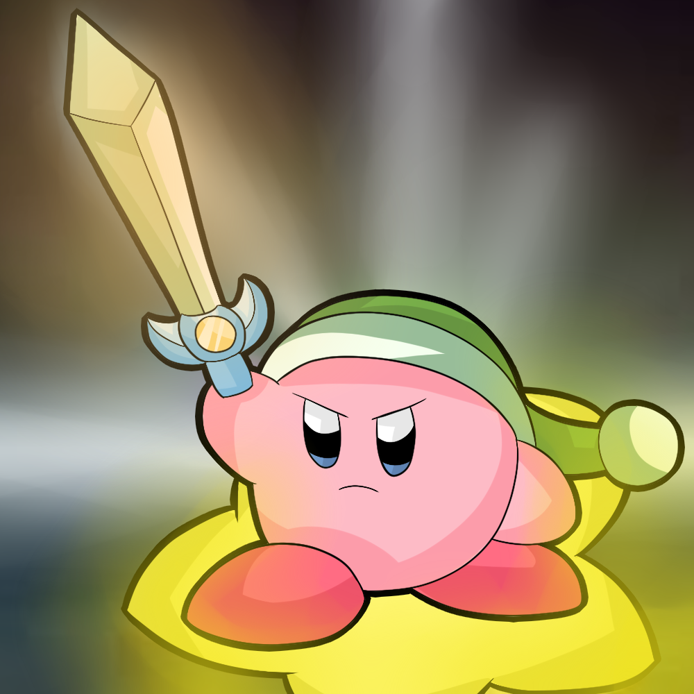 Kirby tuesday-Sword Kirby by thegamingdrawer on DeviantArt