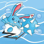 Request Mega Azumarill (SPEED PAINT INCLUDED)