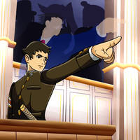 A Prequel to a legend: The Great Ace Attorney! by 4bitscomic