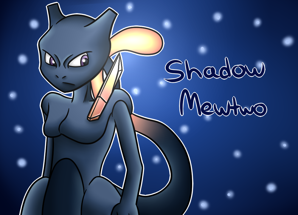 Pokken Tournament: Shadow Mewtwo by thegamingdrawer